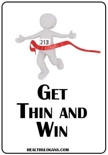 Fitness Slogans - Get thing and win