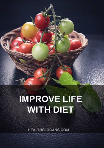 Diet Slogans - Improve life with diet
