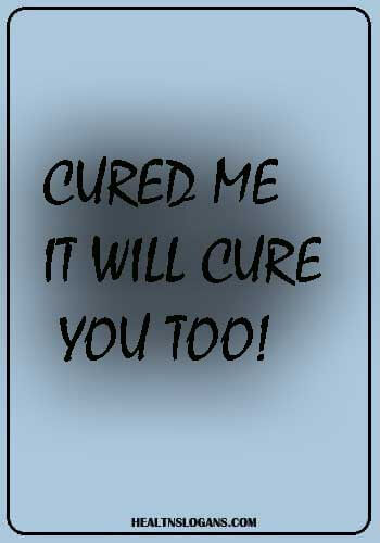 tb posters awareness - Cured me – it will cure you too!