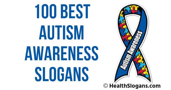 Autism Awareness Slogans