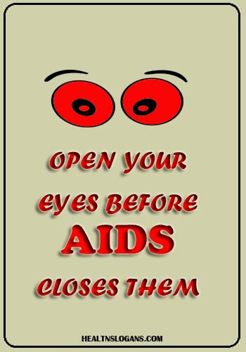 100 Best HIV AIDs Slogans for Awareness and Great Sayings