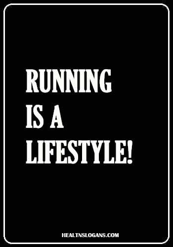 Jogger Slogan