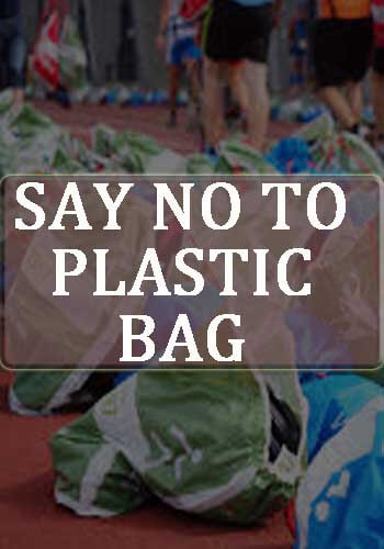 plastic bags slogans - Say No to Plastic Bag